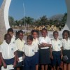 Grade 3 students at National Heroes Park