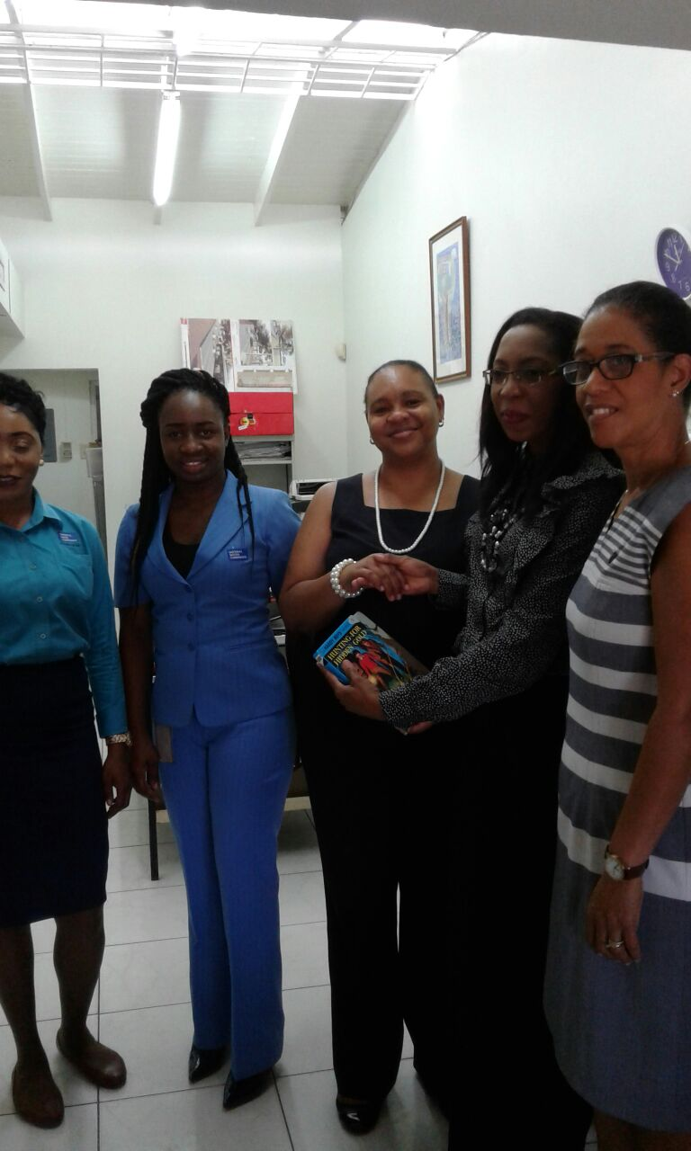 NWC Book Donation to SHPS