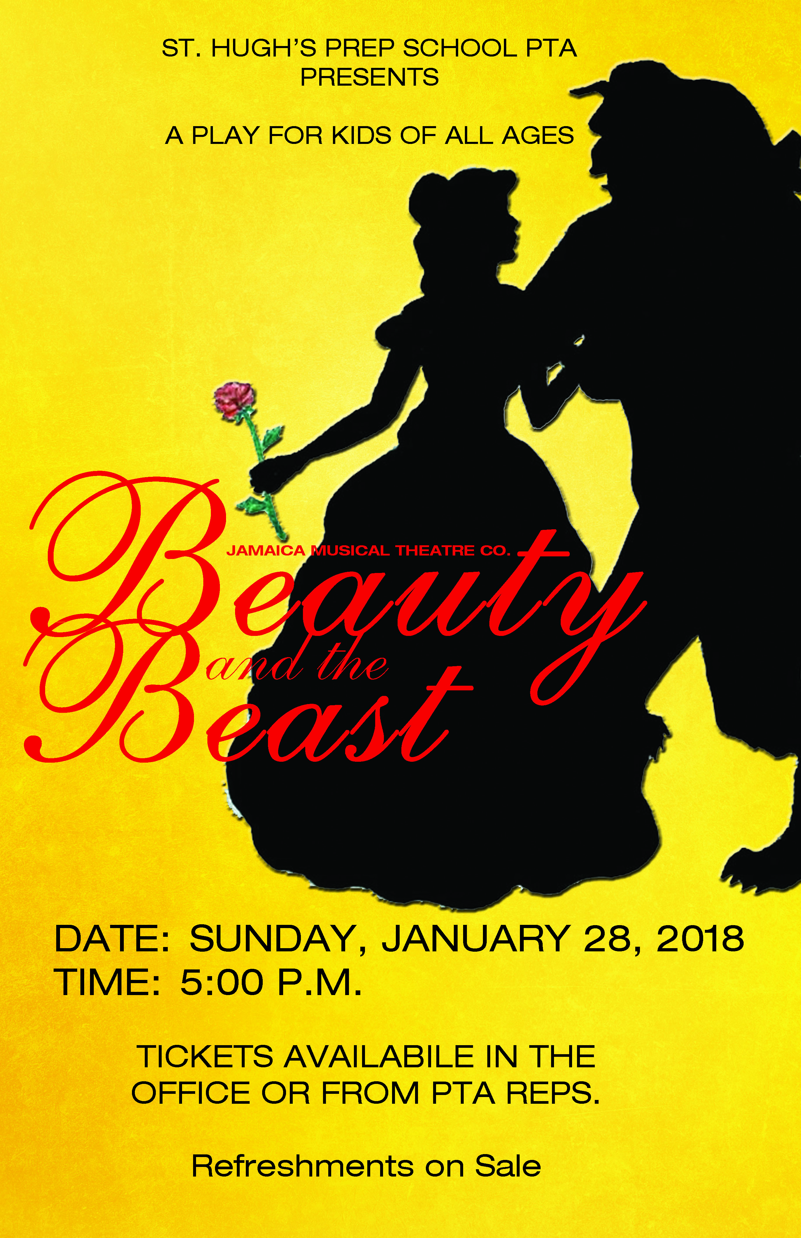 beauty and the beast poster2